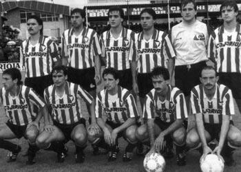 Ascenso CD Logroñes Temporada 1986-1987