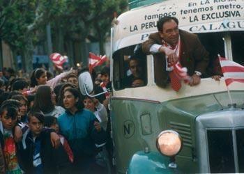 Celebración del ascenso a Primera del CD Logroñés