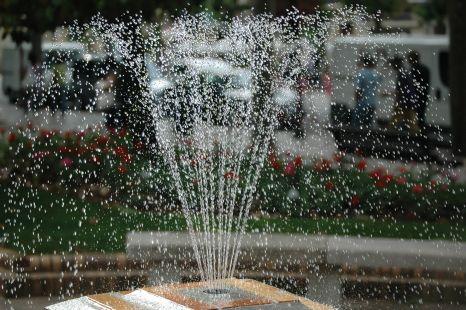 agua dispersa