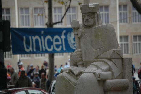 Rey con Unicef