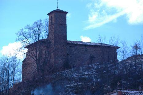 Ermita en invierno