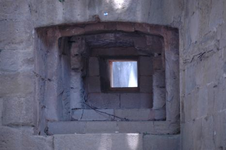 ventana en la muralla