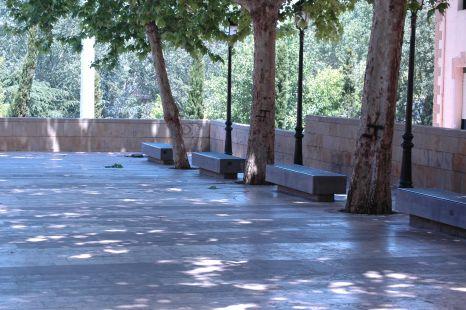 un rincón de la plaza