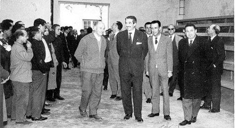 Inauguración del frontón de La Cadena