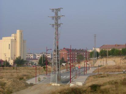 Urbanización recientemente inaugurada entre el Colegio de La Vega y Avda. Diputación en Haro