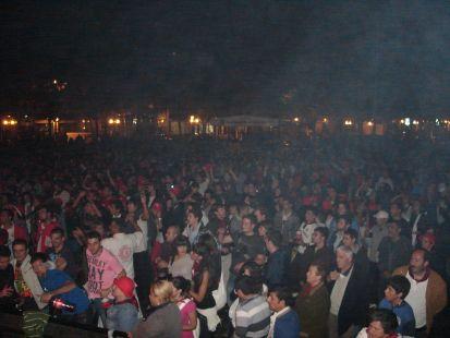 Concierto de Makoki, 23 de Septiembre