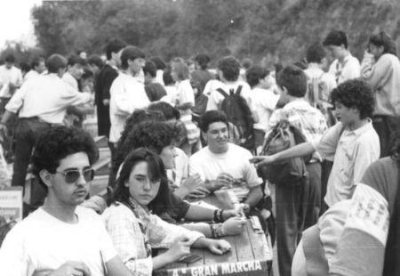 La Marcha Aspace da sus primeros pasos en octubre de 1985