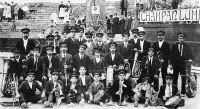 La banda calceatense ganó el concurso regional hace 101 años
