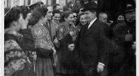 El ministro González Gallarza, de visita en Logroño en 1947