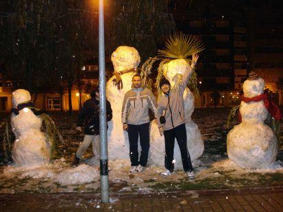 creadores de los megamuñecos de nieve