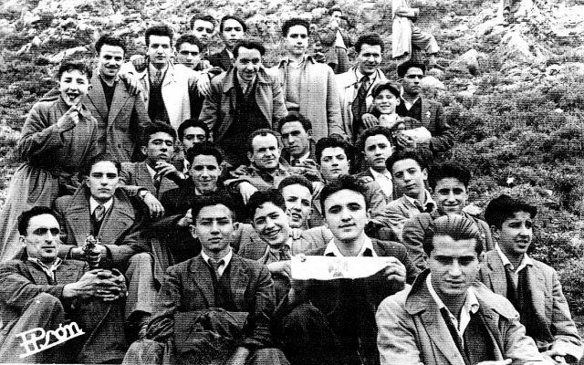 Jóvenes de Arnedo en Clavijo