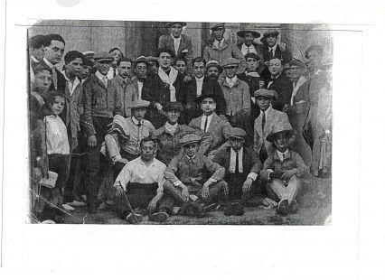 Becerrada  en 1920