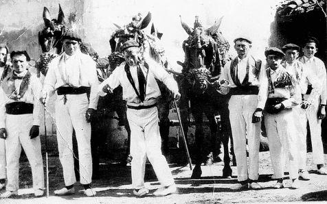 Mulilleros de Logroño en los años 30