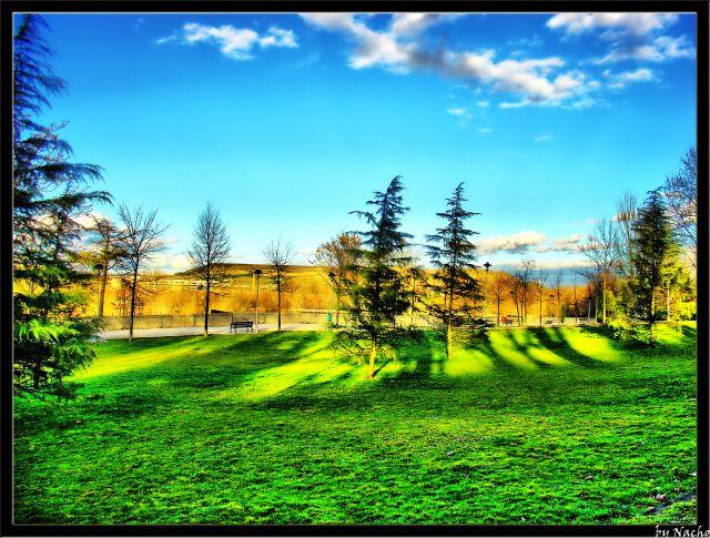 Otra foto del Parque del Ebro de Logroño