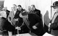 Inauguración en Arnedo en 1957