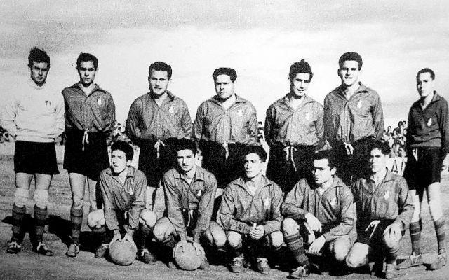 Plantilla del Calahorra  de 1953