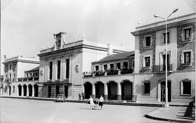La estación de tren que se  despide