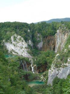 Lagos Plitvice en Croacia