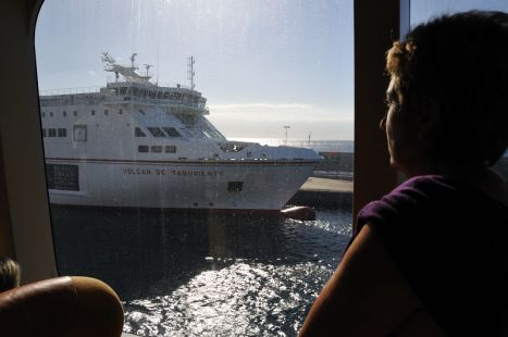 Llegada del ferry