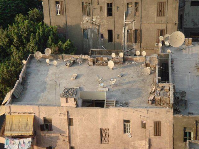 Terraza en El Cairo