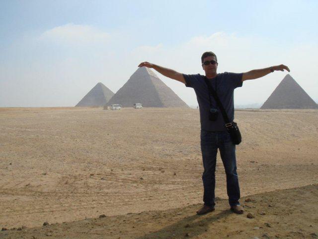 Tocando las pirámides