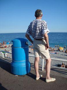 Mirando el mar, la playa...mirando