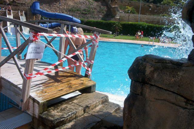 Peligro, piscinas de Haro
