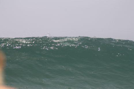 cuidado  biene la ola