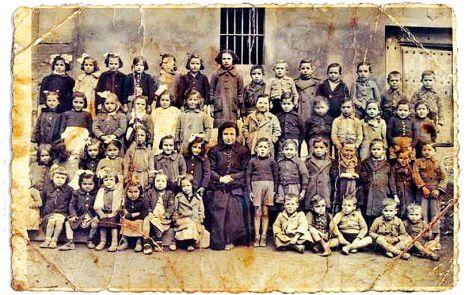 Escolares de Arenzana en el año 36