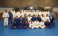 Participantes en la primera jornada de judo