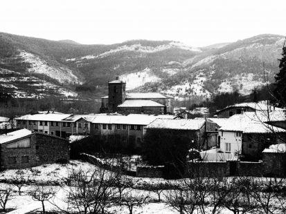 Primeras nieves en Ojacastro