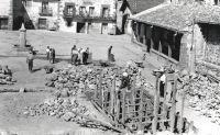 Ayuntamiento de Valgañón en 1963