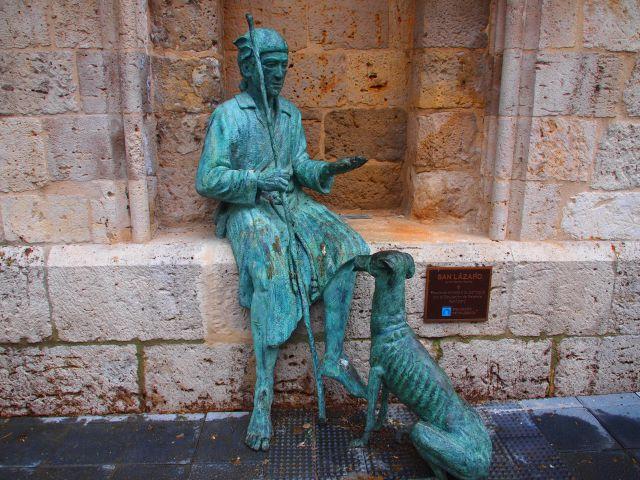 Escultura de San Lazaro