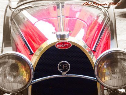 ¡ Que morro tiene Bugatti !