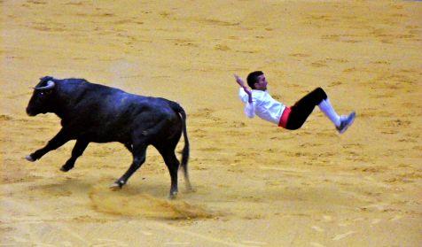 Gran salto a la vaquilla