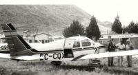 El último vuelo de la PiperEC-CQX