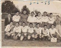 El equipo del Balsamaiso, en 1953