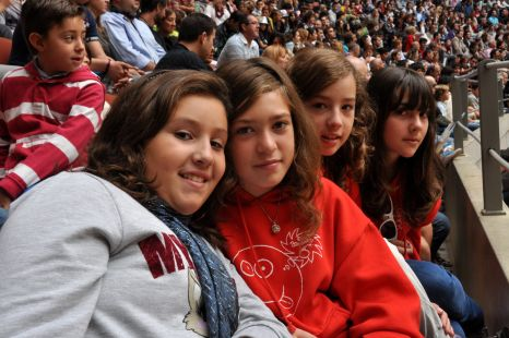 Rebeca, Lidia, Alba y Noelia.