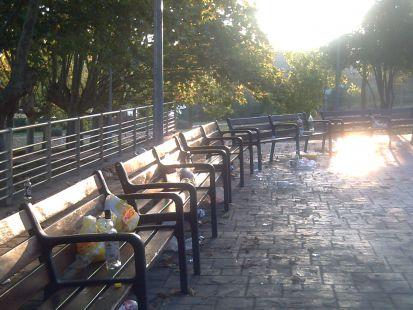 Una mañana cualquiera, en mi parque