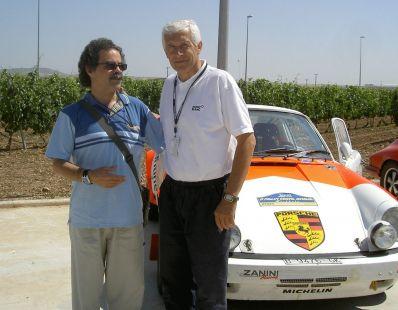 Abel con Antonio Zanini