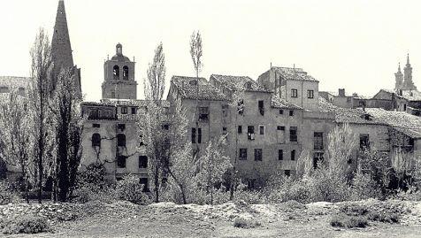 Logroño, el perfil de San Gregorio