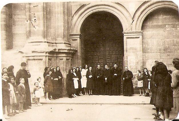 1946, misa en Santo Domingo