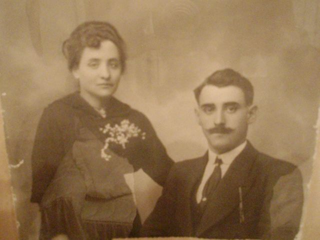 Moises y Genoveba Riojanos años 1920