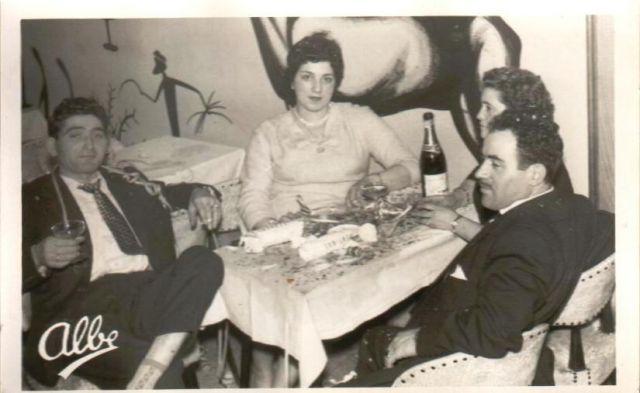 Fiesta Año nuevo 1968 Logroño