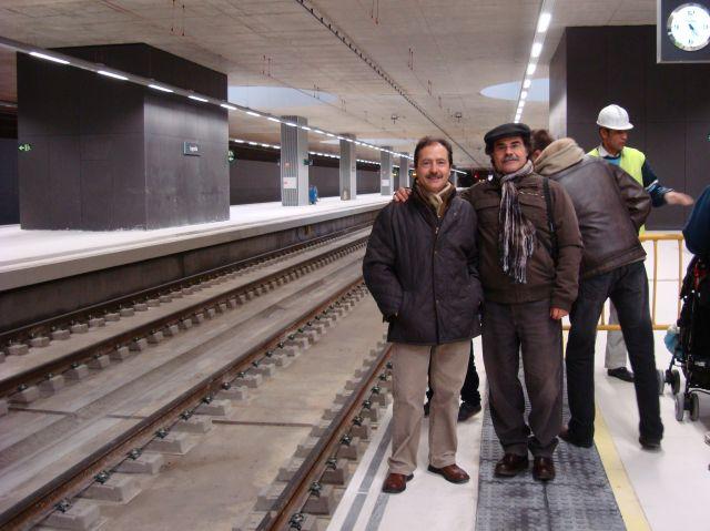 Inaguración de nueva estación de tren de Logroño