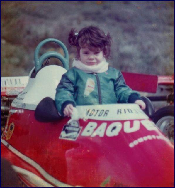 Maria a sus 3 años año 1980
