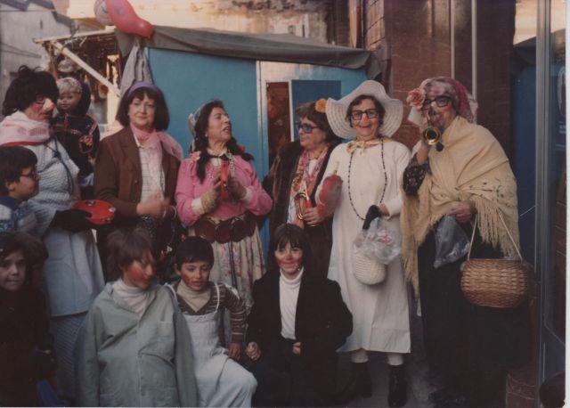 Carnaval en Arnedo en 1979