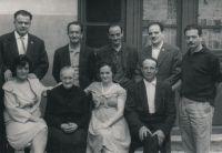 Foto familiar en Arnedo en 1968