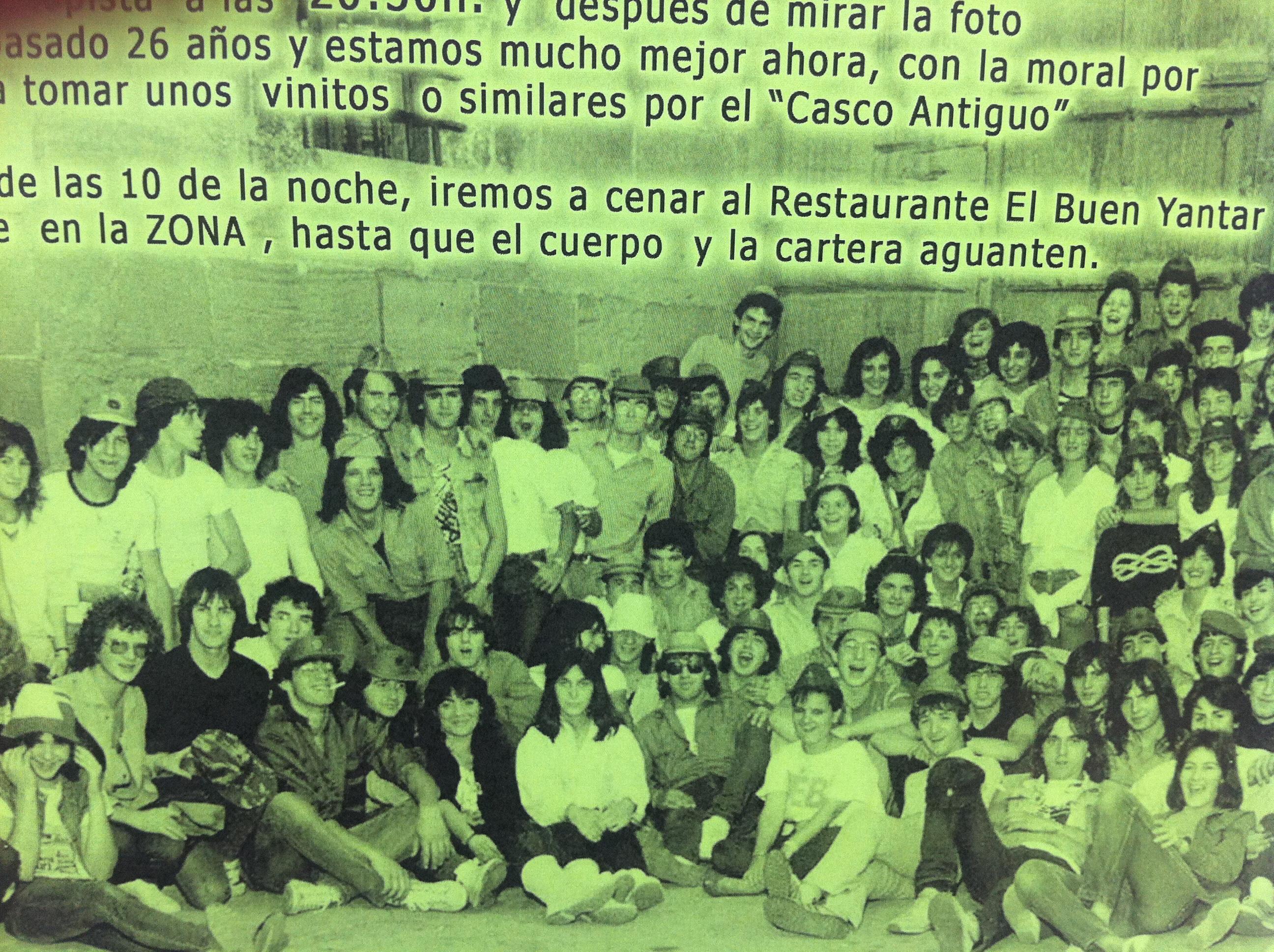 Aniversario de quintos en n jera fotos de fotos antiguas Fotos de najera
