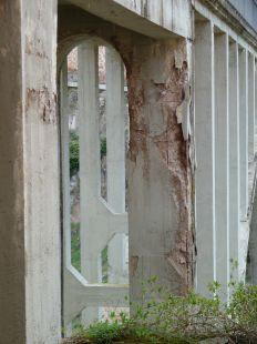 Lamentable estado del puente de Ortigosa